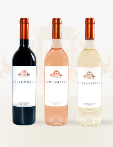 Domaine Coulombaud blanc/rosé/rouge – Carton de 6 bouteilles panachées de 75cl